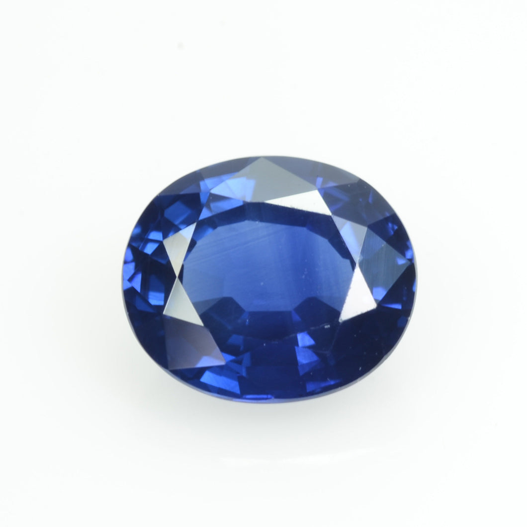 2.21 cts Natural Blue Sapphire Loose Gemstone Oval Cut