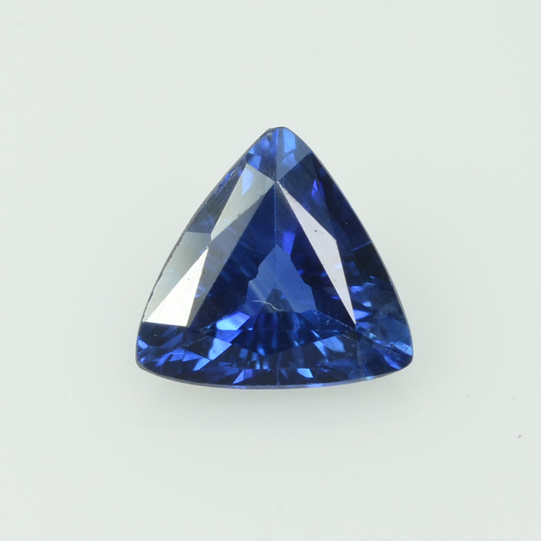 0.49 Cts Natural Blue Sapphire Loose Gemstone Trillion Cut