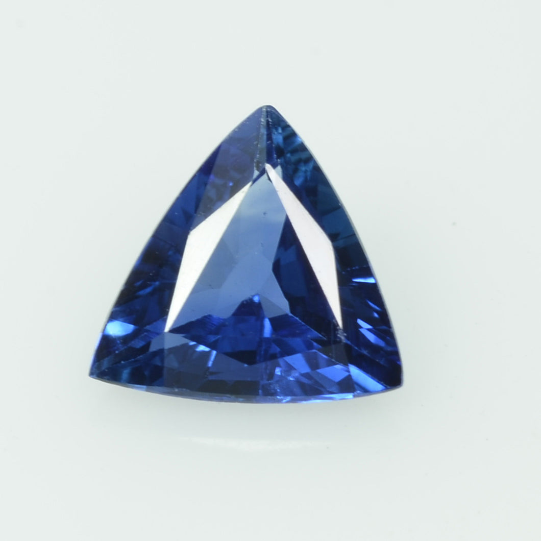0.63 Cts Natural Blue Sapphire Loose Gemstone Trillion Cut