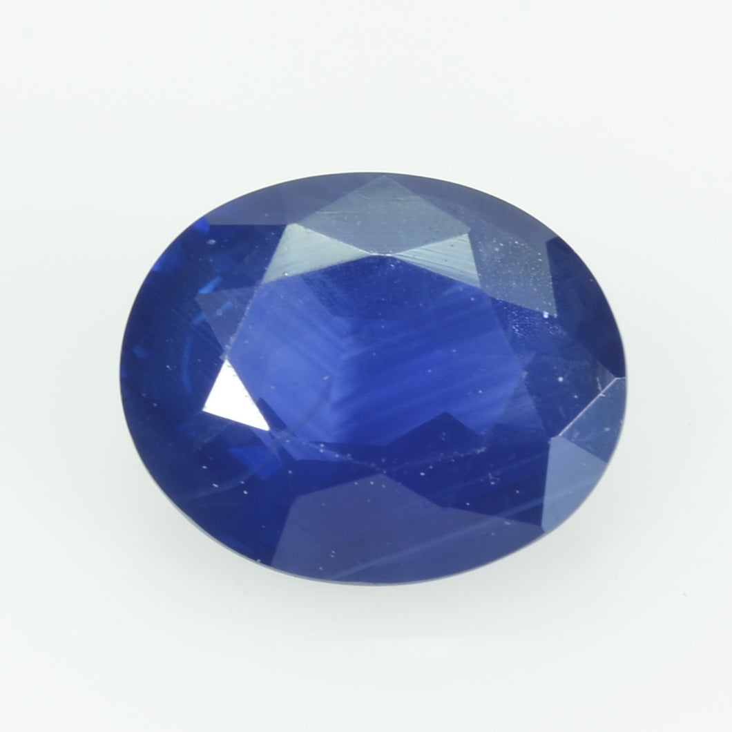 1.06 cts natural blue sapphire loose gemstone oval cut AGL Certified