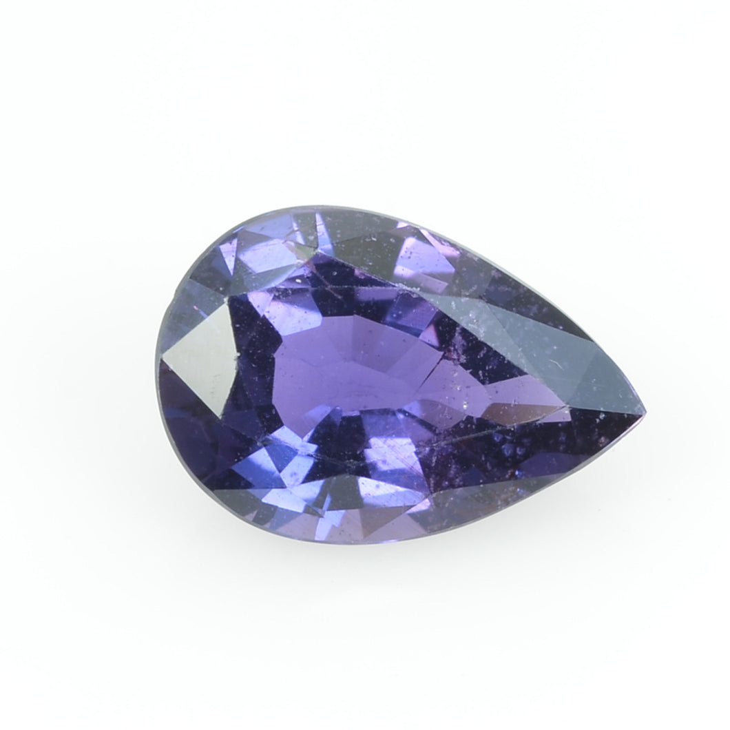 2.16 cts Natural Purple  Sapphire Loose Gemstone Pear Cut