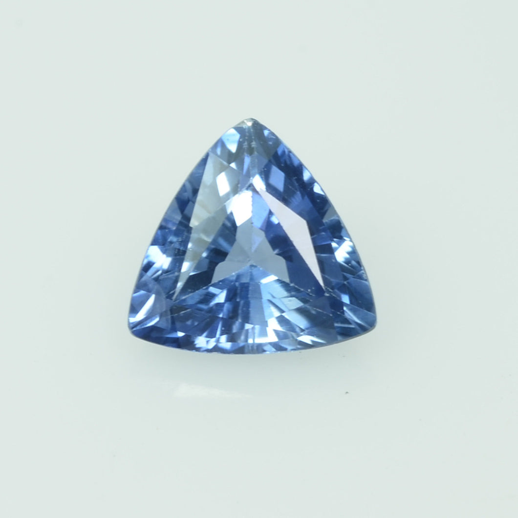 0.45 Cts Natural Blue Sapphire Loose Gemstone Trillion Cut