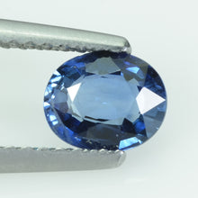 Load image into Gallery viewer, 0.76 Cts Natural Blue Sapphire Loose Gemstone Oval Cut AGL Certified