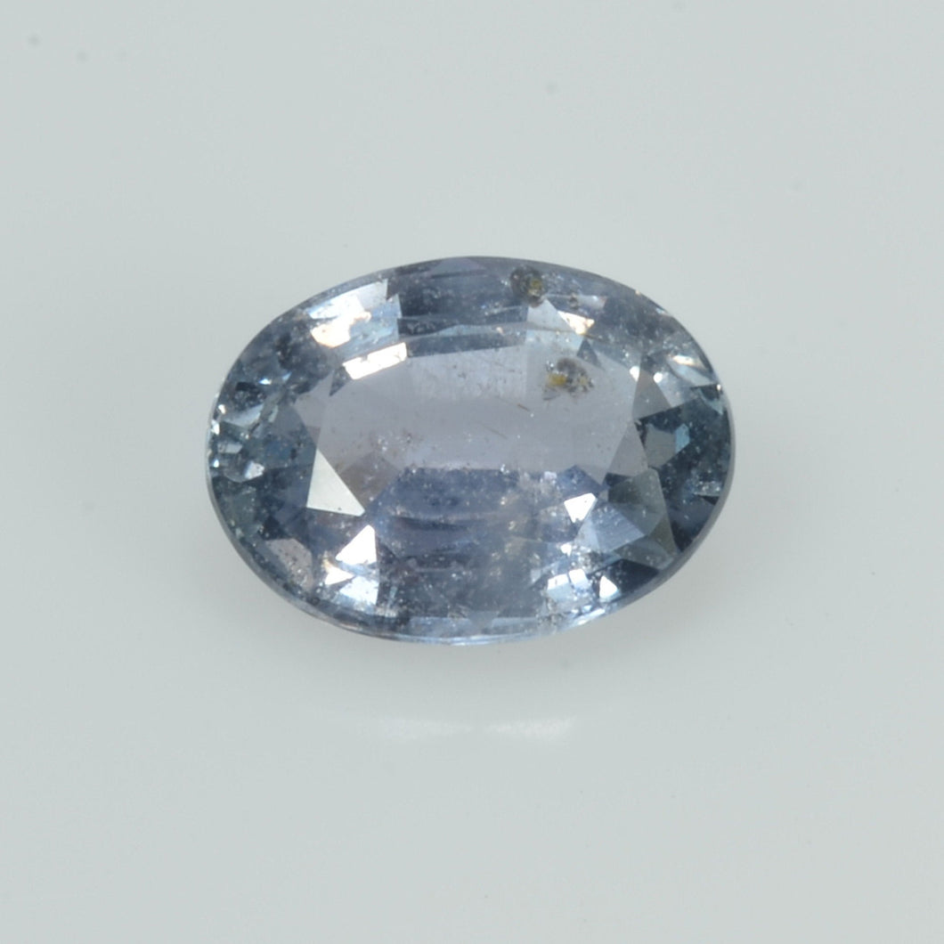 1.53 cts Natural Blue Sapphire Loose Gemstone Oval Cut Certified