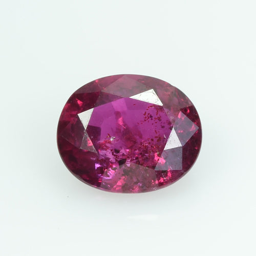 2.08 Cts Natural Ruby Loose Gemstone Oval Cut