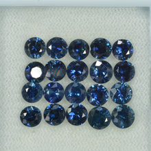 Load image into Gallery viewer, 4.5-6.0 mm Natural Blue Sapphire Loose Gemstone Round Diamond Cut Vs Quality Color