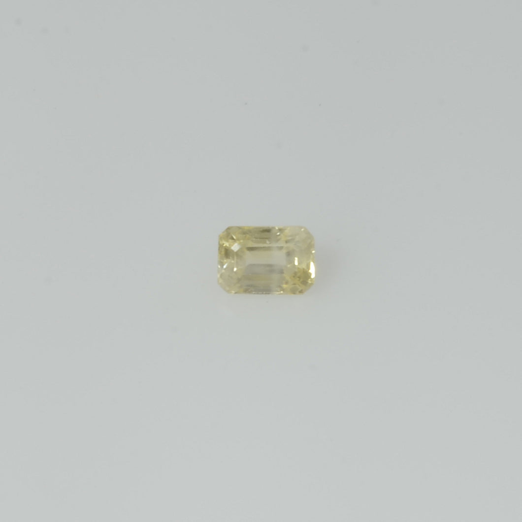 0.21 cts Natural Yellow Sapphire Loose Gemstone Octagon Cut