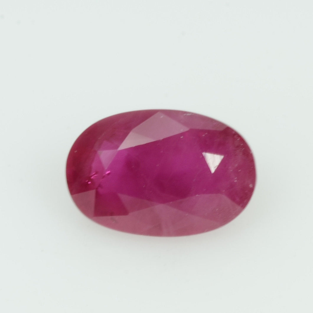 1.07 cts Natural Burma Ruby Loose Gemstone Oval Cut