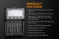 Fenix ARE-A4 Battery Charger, Compatible With Different Battery Types #ARE-A4