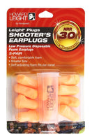 Howard Leight Earplugs, Foam, (5) Pairs w/Carry Case #R-01517