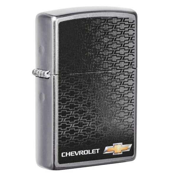 Zippo Chevrolet Chevy Logo, Street Chrome Finish, Windproof Lighter #49304