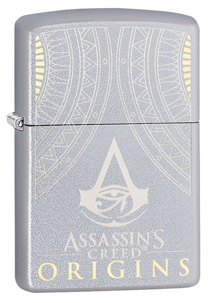 Zippo Assassin's Creed Origins, Eye Of Horus, Genuine Windproof Lighter #29785