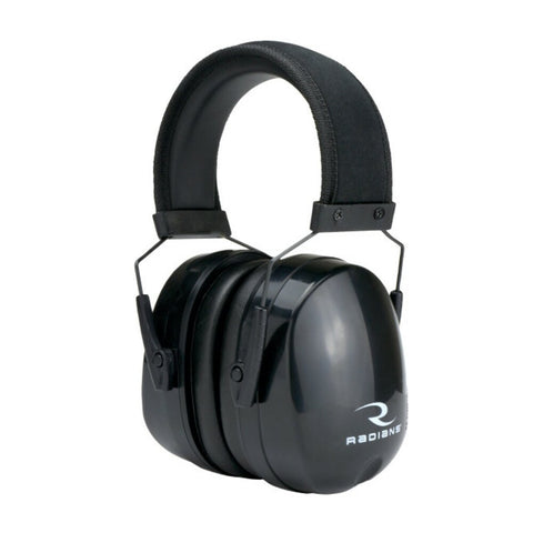 Radians CSE30BX Tactical Eradicator Passive Adjustable Earmuff, Black #CSE30BX