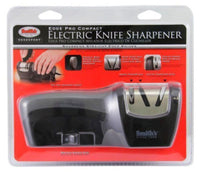 Smith's Abrasives Edge Pro Compact Electric & Manual Knife Sharpener #50005