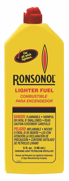 Ronson Ronsonol Lighter Fuel, For All Wick Lighters, 5 fl. oz (148 ml) #99060_1