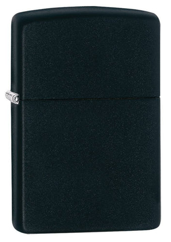 Zippo Classic Black Matte Lighter With Pipe Insert, Pipe Lighter #218-008871