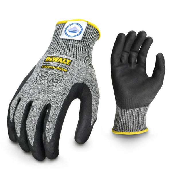 DeWalt Dyneema Cut Protection Level A3 Touchscreen Glove, Large #DPGD809L