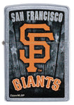 Zippo MLB San Francisco Giants Baseball Team, Genuine Windproof Lighter #29798