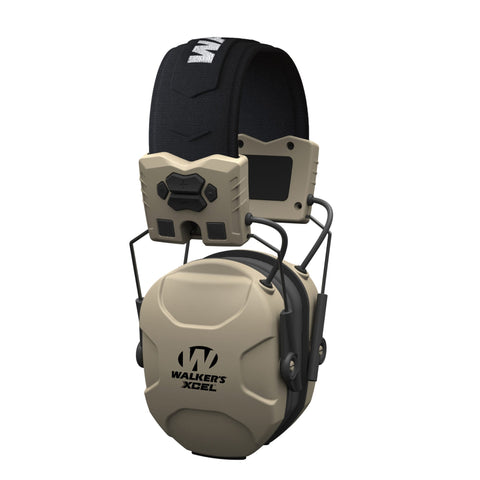 Walker's XCEL 100 Advanced Digital Electronic Earmuff, 4 Modes + Batteries #XSEM