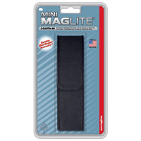 MAGLITE Mini Nylon Flashlight Holster for 2-Cell AA Flashlights, Black #AM2A056