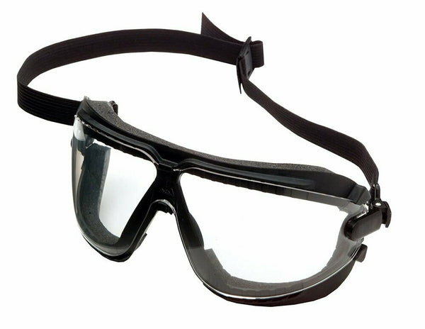 3M Dust Safety Goggles, Clear Lens, Adjustable Headband, ANSI Z87.1-2015 #16617