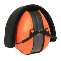 Radians Lowset Protective Earmuffs, Orange, NRR 21 #LSH500CS