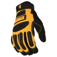 DeWalt Performance Mechanic Work Gloves, Yellow/Black, Large #DPG780L