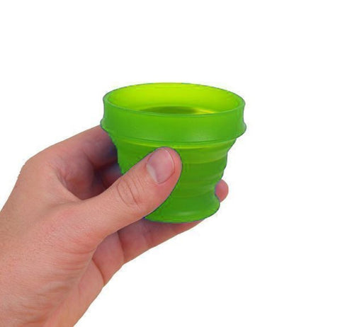 Lewis N. Clark GoCup Collapsing Travel Cup, Small, Green #HG0311
