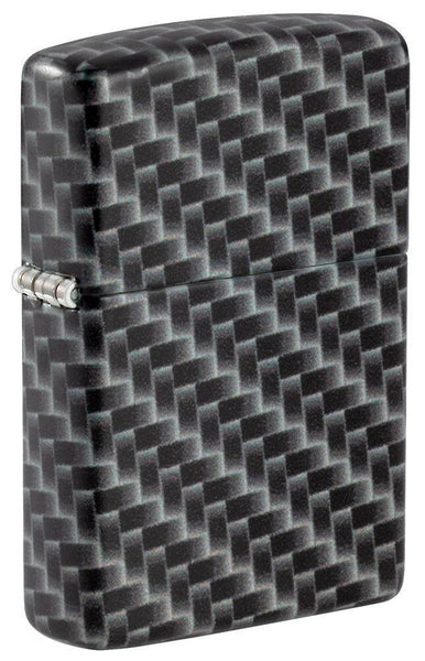 Zippo Carbon Fiber Design, 540° Color Wrap, Genuine Windproof Lighter #49356