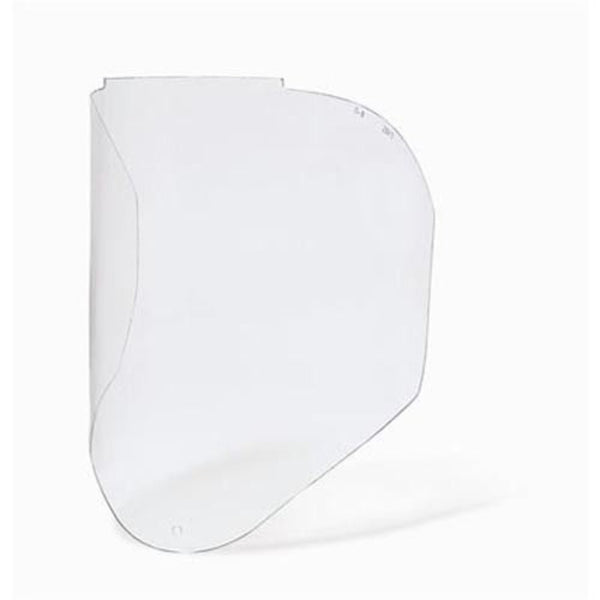 UvexBionic Faceshield Visor, Clear, Uncoated Polycarbonate #S8550