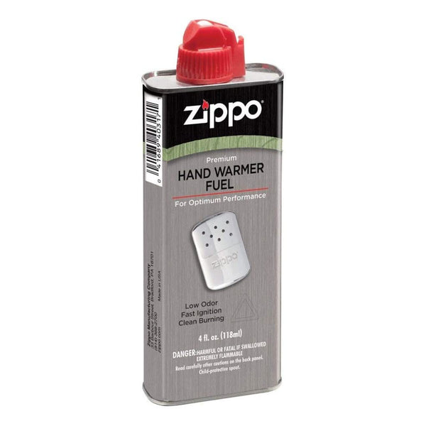 Zippo Refillable Hand Warmer Fuel, 4 fl. oz. 118 ml Cans, 1 Can #3341OD_1