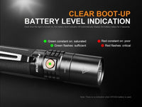 Fenix UC35 V2.0, 1000 Lumens LED Rechargeable Flashlight, 5 Modes #UC35V2.0