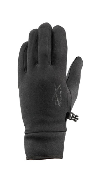 Seirus Xtreme All Weather Glove, Mens, Black, Medium Form Fitting #8011.1.0013