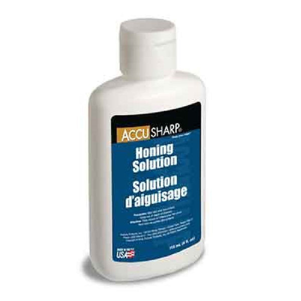 AccuSharp Honing Solution, 4 oz bottle, For Natural Stone Sharpening #068C