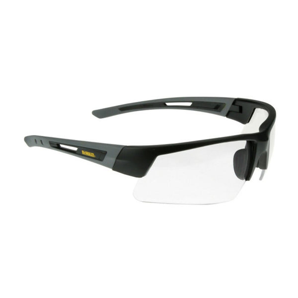 DeWalt Crosscut Safety Glasses, Wide Wrap Clear Lens, Comfort Fit #DPG100-1D