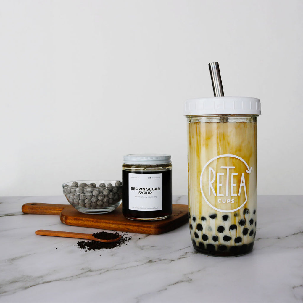 DIY Brown Sugar Bubble Tea Recipe