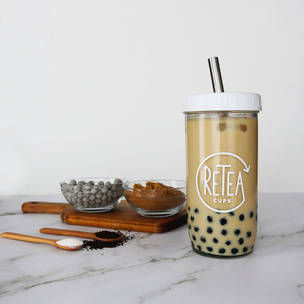 MILK TEA RECIPE (ASSAM, JASMINE, HOJICHA & MORE)
