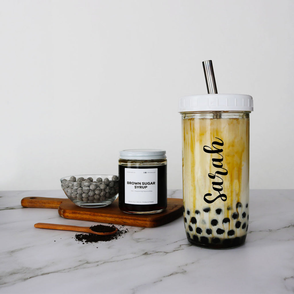 customized brown sugar bubble tea kit