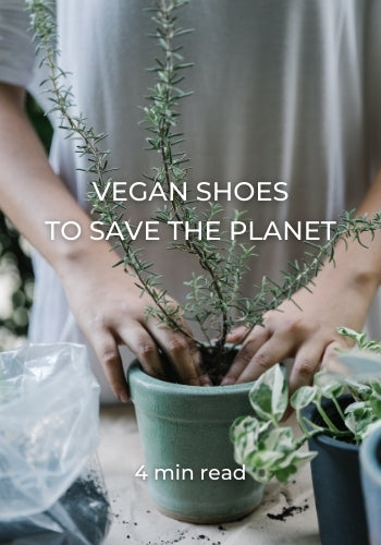 VEGAN SHOES TO SAVE THE PLANET