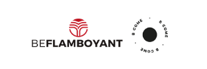BEFLAMBOYANT and BCOME logos