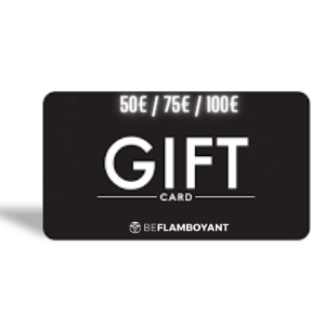 Gift card at BEFLAMBOYANT