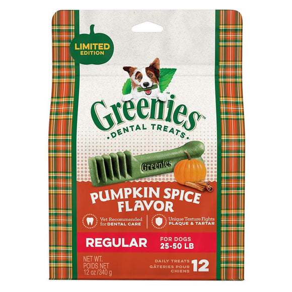 GREENIES™ Pumpkin Spice Flavor Large Size Dog Dental Treats