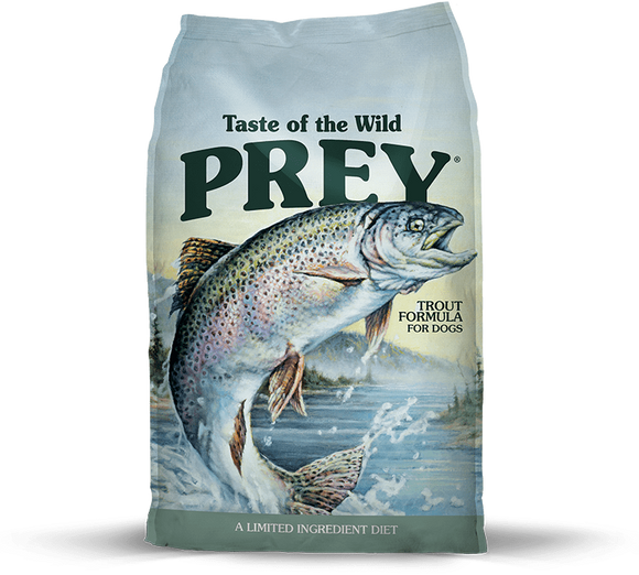 Taste Of The Wild Grain Free Prey Limited Ingredient Trout Dry Dog Food