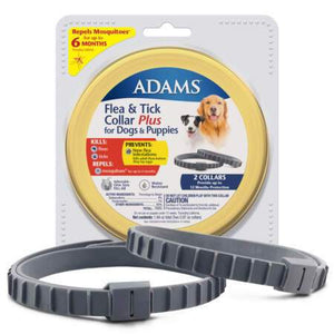 Adams™ Flea & Tick Collar Plus for Dogs & Puppies