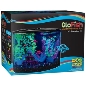 GLOFISH CRESCENT AQUARIUM KIT