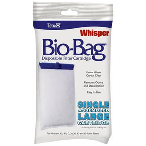 TETRA WHISPER ASSEMBLED BIO BAG CARTRIDGE