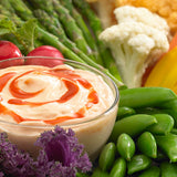 Veggies with Garlic Dip