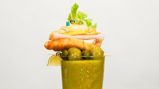Baby Hot Sauce Verde Bloody Mary