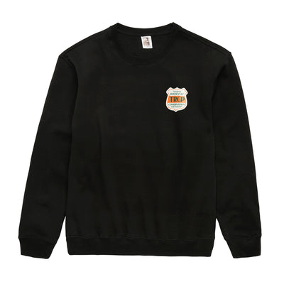 GREAT NATION CREW FLEECE BLACK