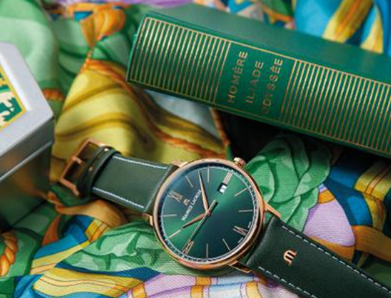 ELIROS GREEN SMOKED & RAINBOW Watch